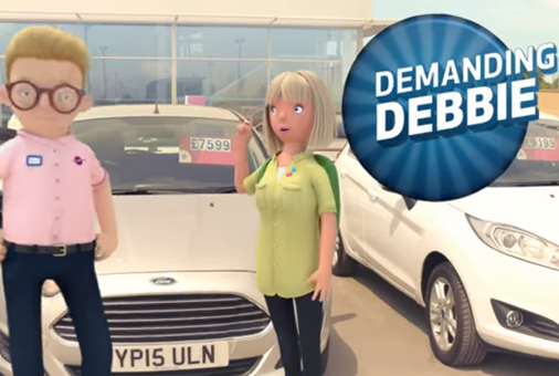 The Car People 2017 Ad (On-set VFX supervisor)